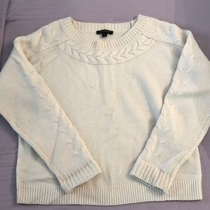 Ann Taylor Cashmere and Wool Sweater